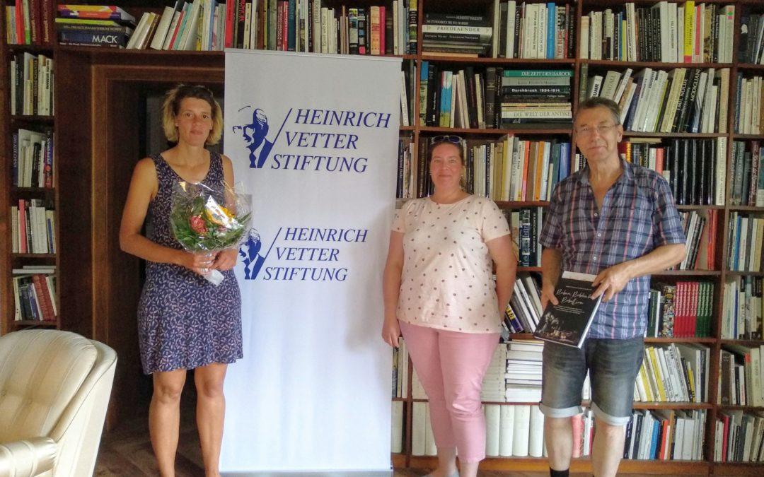 """""""Reben, Rebhuhn und Rebellion"""" Lesung aus dem Kochbuch von Ulla Hoffmann und Tristan Brandt in der Vetter-Stiftung"""
